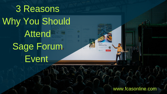 3 Reasons Why You Should Attend Sage Forum 300cloud